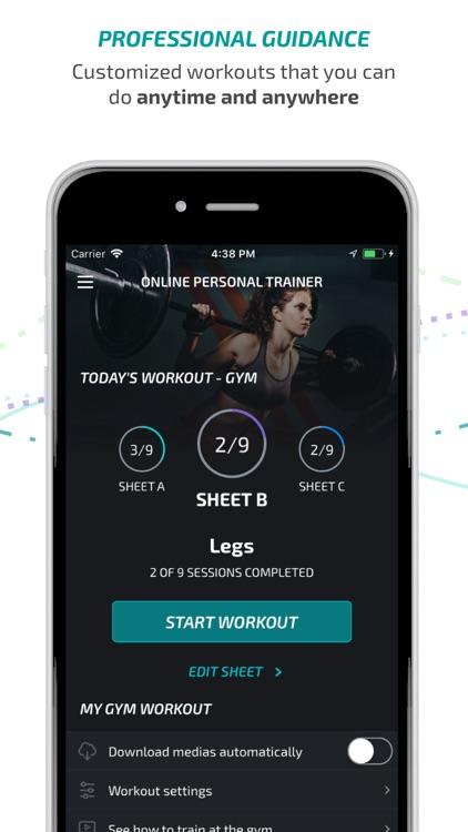BTFIT - Personal Trainer screenshot-3