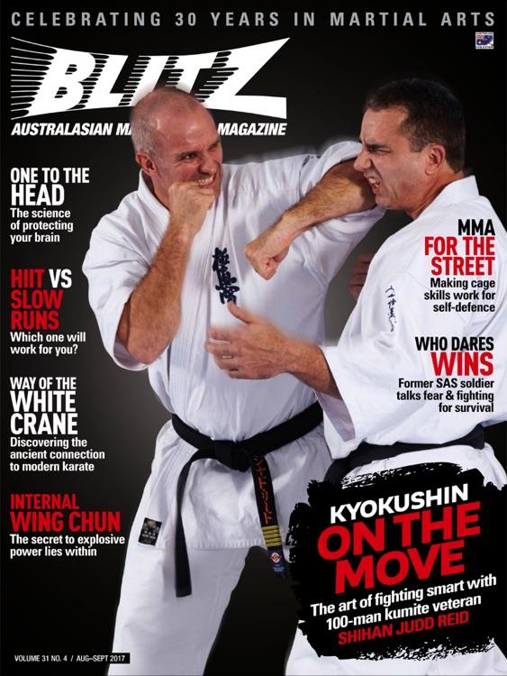 BLITZ Martial Arts Magazine