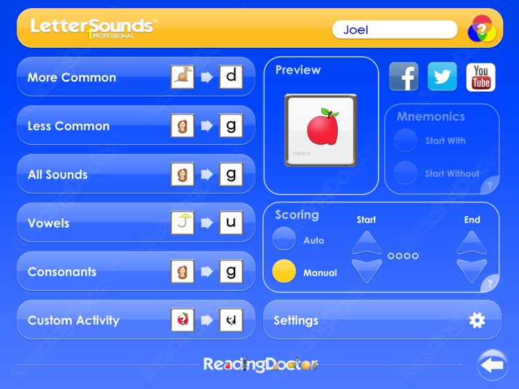 Letter Sounds 1 : Phonics Graphemes for Beginners screenshot-2