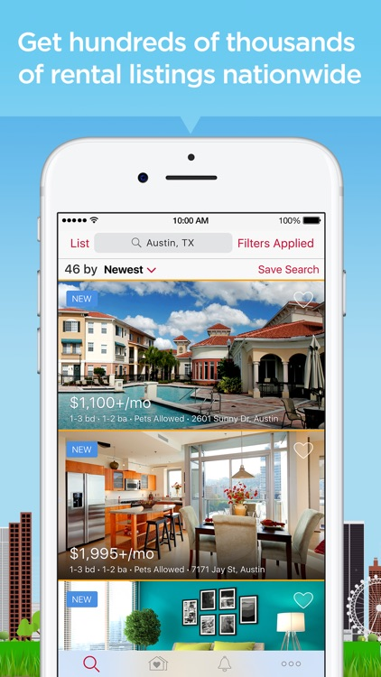 Realtor.com Rentals App screenshot-2