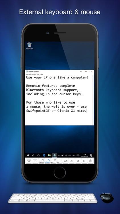 Remotix VNC, RDP & NEAR screenshot-4