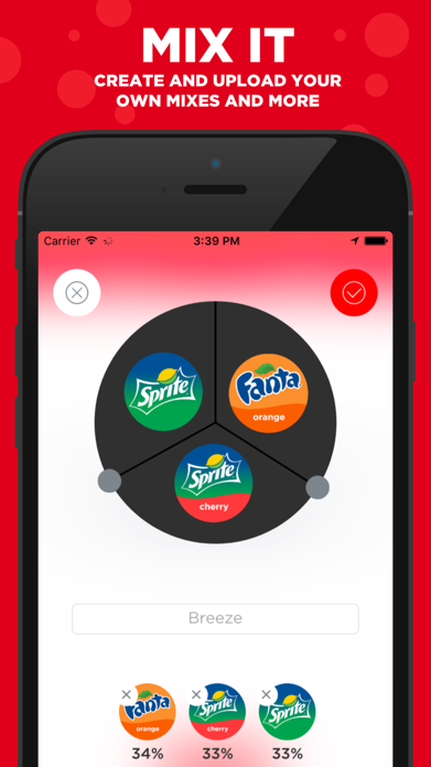 Coca-Cola Freestyle Screenshot