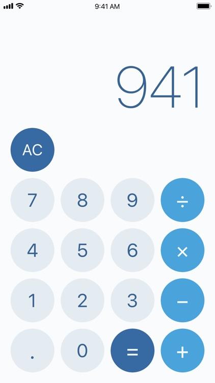 CalcCalc – A Calculator