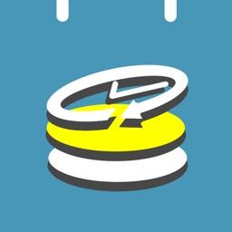 かるくシフト:シフト管理と給料計算のカレンダー