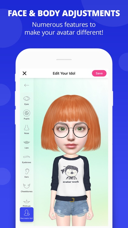 Myidol Emoji screenshot-4