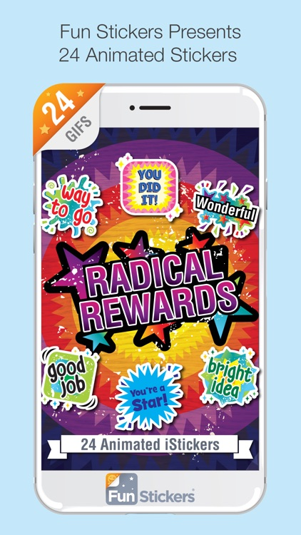 Radical Rewards iSticker