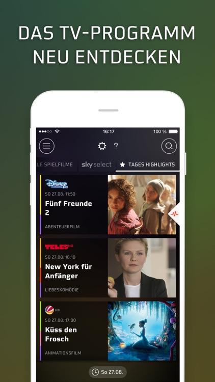 HD+ TV-Programm Guide