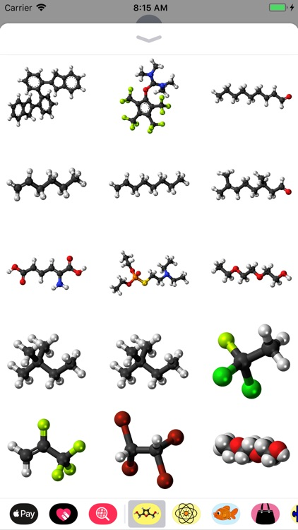 Molecule Stickers screenshot-2