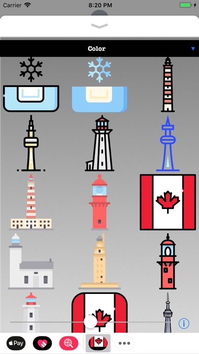 download Stickers of Canada apps 2