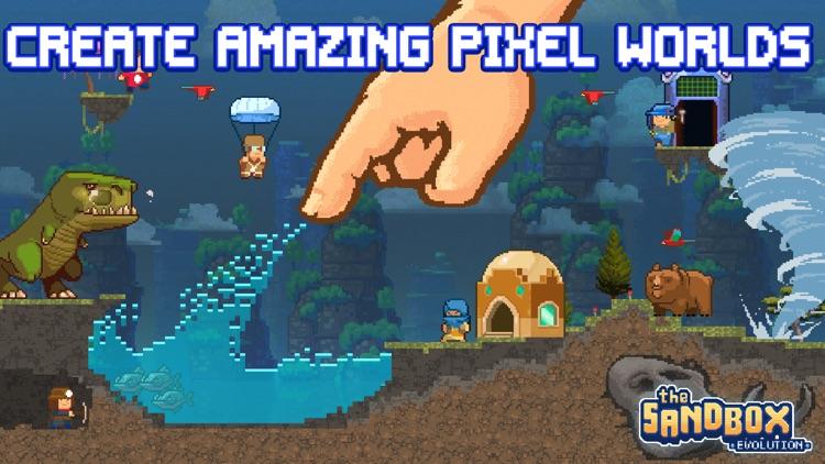 The Sandbox Evolution - Craft a 2D Pixel Universe screenshot-0