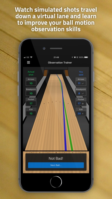 Screenshot for Tenpin Toolkit in Sri Lanka App Store