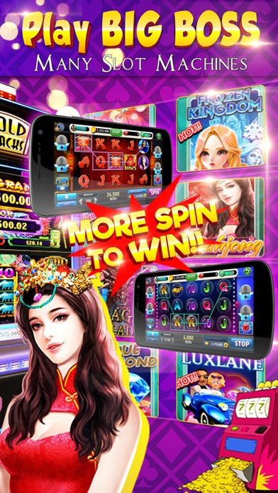 BigBoss Casino screenshot one