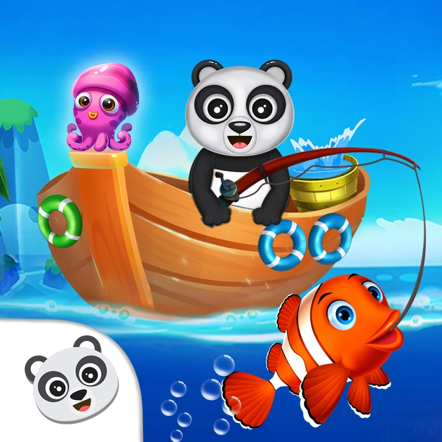 App store fisher panda best fishing game for Best fishing game app