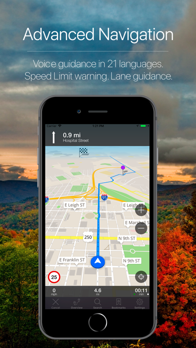 Virginia Offline Navigation Screenshot