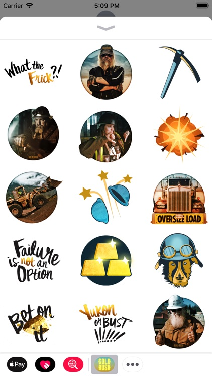 Gold Rush: Sticker Pack