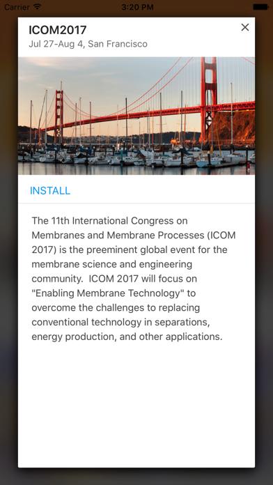 Elsevier Conferences App screenshot 3