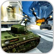 Tanks Battle Snow: Steel Assau