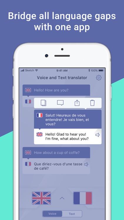 Voice and Text Translator HD screenshot-4