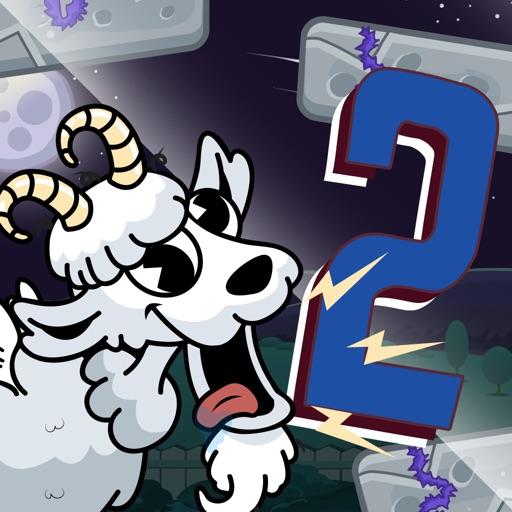 Crazy Goat Jump 2 - Top action mega funny game!