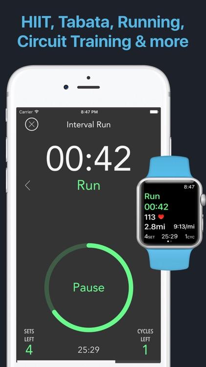 Intervals - HIIT Workout Timer screenshot-0