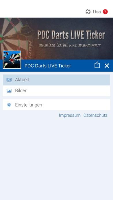 PDC Darts LIVE TickerScreenshot von 2
