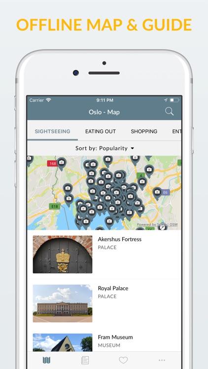 Oslo Offline Map & Guide screenshot-0