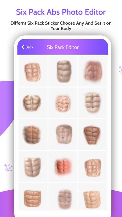 Six Pack Abs Photo Editor- Abs screenshot-4