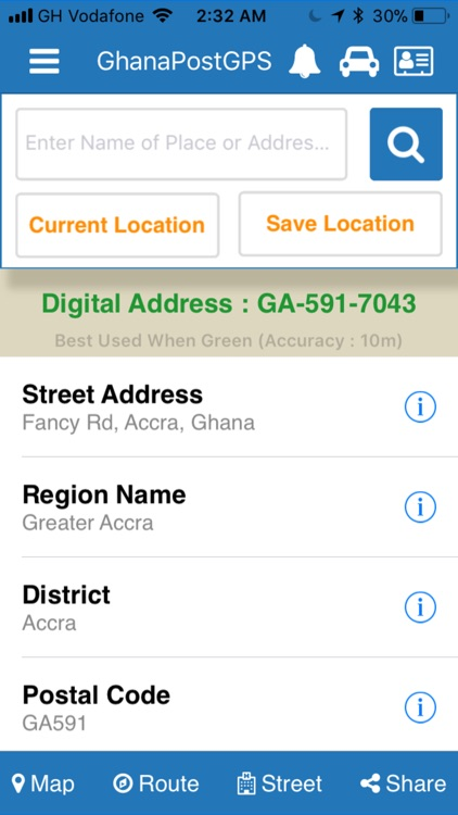 GhanaPostGPS screenshot-2