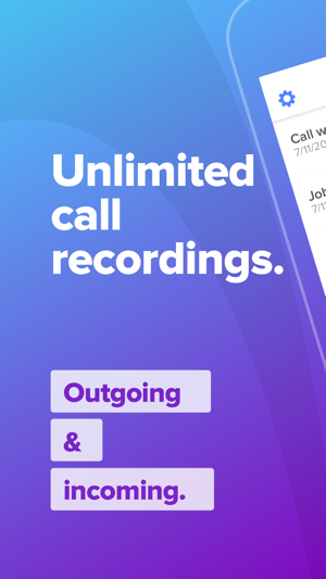 Rev Call Recorder on the App Store