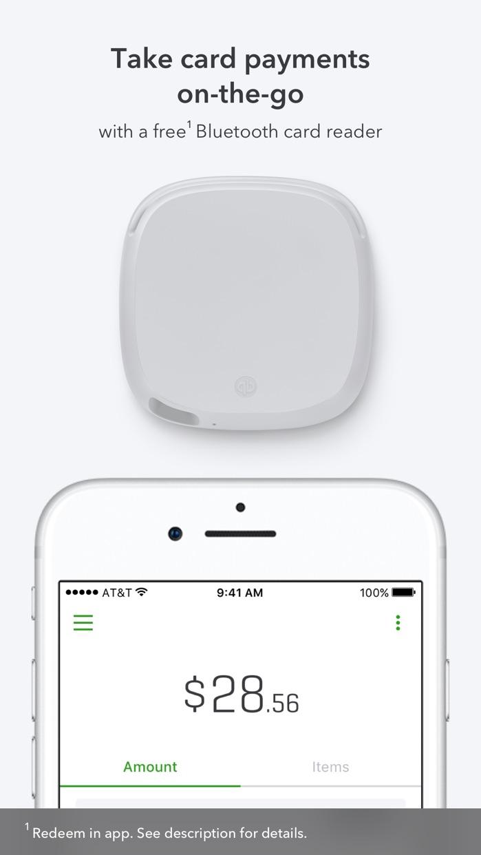 QuickBooks GoPayment POS Screenshot