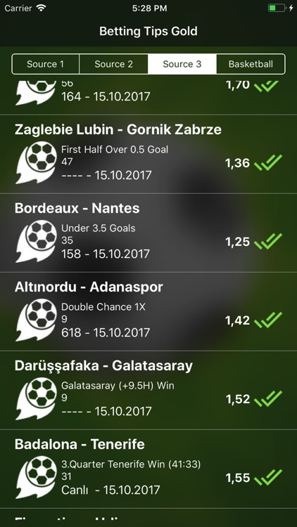 Sports Betting App Gold Tips screenshot-3