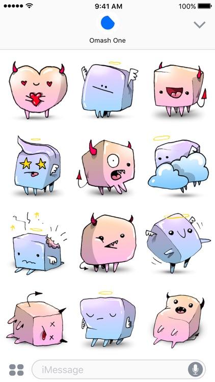 Marshmallows - Angel & Demon Animated Stickers screenshot-4