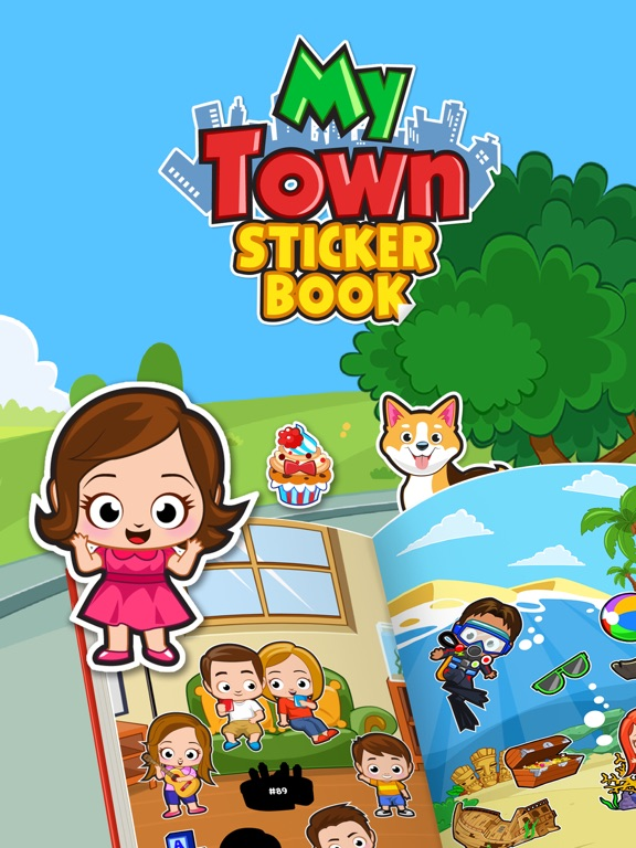 My Town : Sticker Book screenshot 6