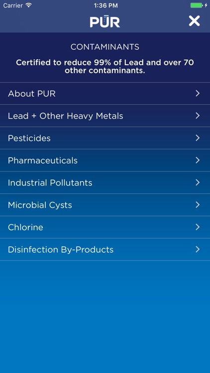 PUR Faucet Mount Water Filter screenshot-4