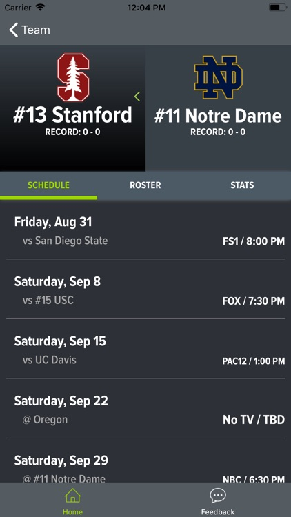 Notre Dame Football screenshot-5
