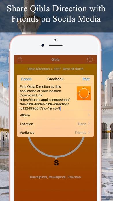 Qibla Compass & Locator Pro screenshot four