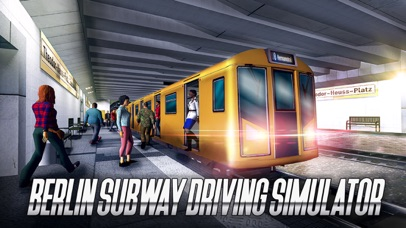 Berlin Subway Driving Simulator Full screenshot 1
