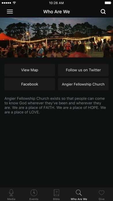 Angier Fellowship Church screenshot 3