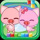小猪方块岛冒险-双人游戏 icon
