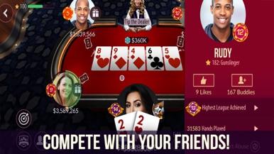 Zynga Poker - Texas Holdem screenshot for iPhone