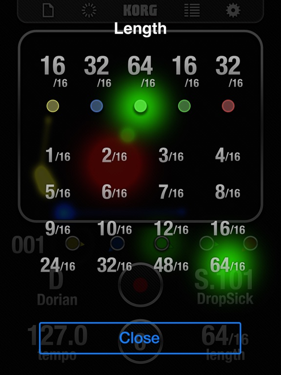 Screenshot #6 pour KORG iKaossilator