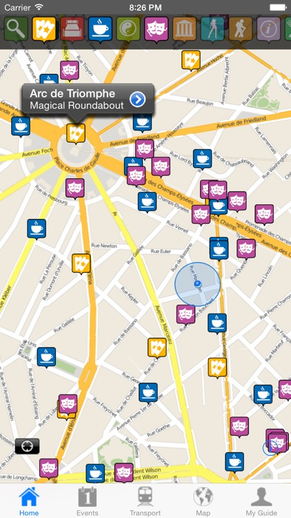 Paris Travel Guide Offline