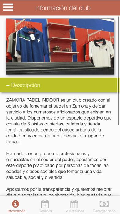 Zamora Padel screenshot 2
