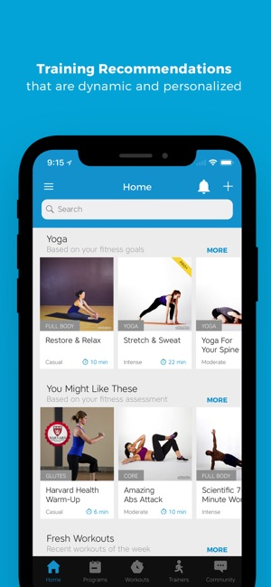 e3085eb4ace Workout Trainer  fitness coach on the App Store