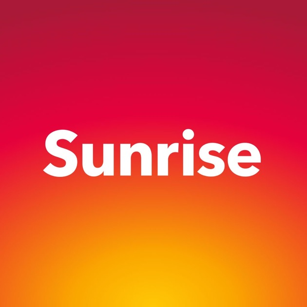 my sunrise im app store. Black Bedroom Furniture Sets. Home Design Ideas