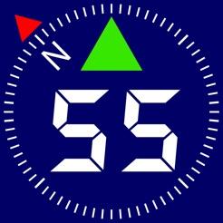 Compass 55. Map & GPS kit. 4+