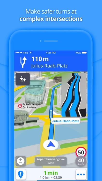 GPS Navigation & Maps screenshot-4