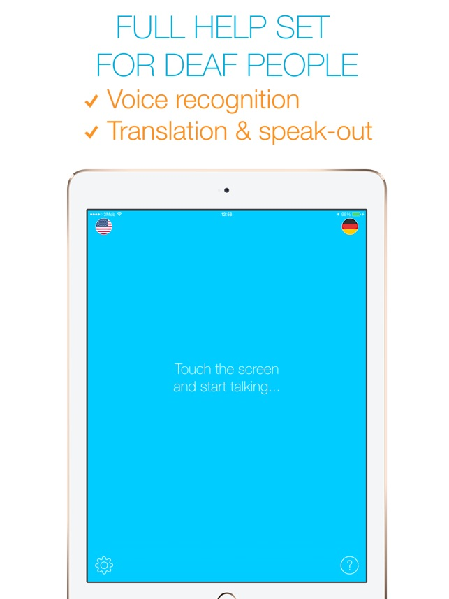 Visual Hear - for deaf people! Screenshot