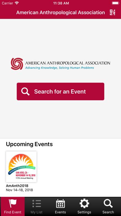 点击获取American Anthro Events
