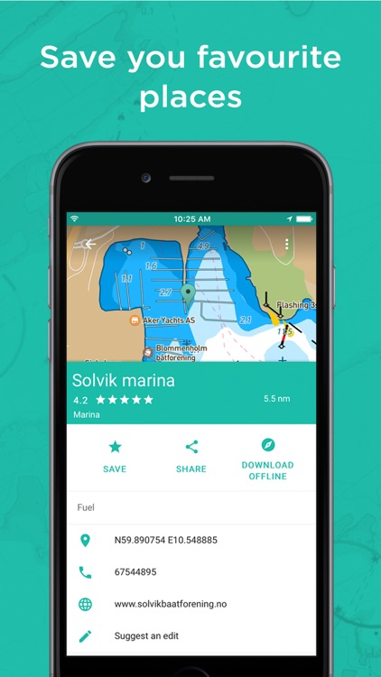 Embark: User friendly personalised nautical charts